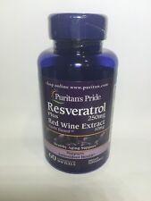Resveratrol 250 mg  60 Softgels