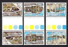 Dutch Antilles - 1977 Tourism Mi. 345-47 gutterpairs MNH
