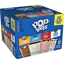 POP TARTS TOASTER PASTRIES VARIETY PACK 32 CT 3LBS 6.1 OZ TOTAL