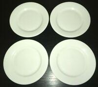 "(4) Williams-Sonoma RESTAURANT DINNERWARE 8 1/4"" Salad Plates  **"