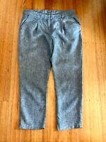Sussan-Linen Ankle Pant-Size 12