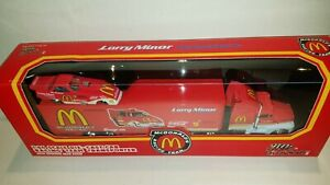 McDonald's Funny Car Champions 1:64 Die Cast Racing Team Transporter & Car