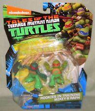 "MIKEY RALPH ROOKIES IN TRAINING Tales Teenage Mutant Ninja Turtles TMNT 2017 4"""