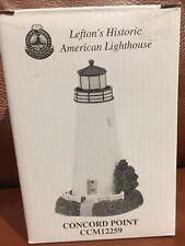 NIB Lefton Historic American Light House Figurine Concord Point MD CCM12259 New