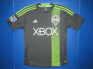 Seattle Sounders FC jersey MLS Major League Soccer shirt XBOX adidas ClimaCool