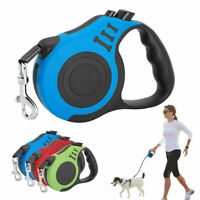 3/5M Retractable Dog Leash Automatic Pet Walking Lead For Small Medium-Sized New