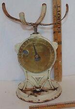 Vintage Cast Iron Basket Top Salter Trade Spring Balance Scale #50T England 2 lb