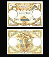 France, 1932   50 Francs,*  Luc Olivier Merson * , VF / XF / ***
