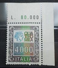 1978-1979  ITALIA  ALTI VALORI  4000 lire  singolo   MNH*