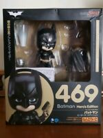 "Batman 469 Hero's Edition Figure Nendoroid 4"" The Dark KnightGood Smile Japan N"
