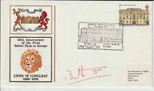 LONGLEAT SAFARI PARK - SIGNED ENVELOPE BY MARQ. OF BATH