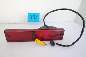 JAGUAR XJ40 XJ6 1990 REAR INDICATOR SIGNAL LIGHT RED LENS FITS R OR L USED OEM