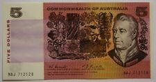 1967 Australian Coombs Randall $5 Banknote Unc