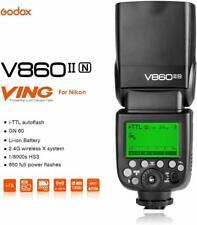 Godox Ving V860II-N 2.4G TTL Li-ion Battery Camera Flash Speedlite for Nikon