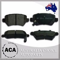 Premium Rear Brake Pads 1511 for Holden Astra TS AH Combo XC Zafira HSV VXR