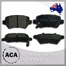 Premium Rear Brake Pads 1511 for Holden Astra TS AH Combo XC Zafira HSV VXR