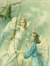 "~Post Card~""Christmas-""The Victorian Angels Ring The Bell""  (T11)"