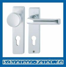 Hoppe London Aluminium F1 Alu Natur Kurzschild 54/227K/202KP/113 WG WE 8/72 mm