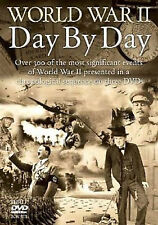 World War II - Day By Day - 3 DVD BOXSET - BRAND NEW histoty of WW2 Two