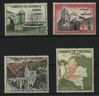 Colombie PA N° 249/52** (MNH) 1954