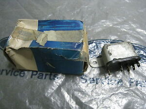MK2 CORTINA GT 1600E LOTUS  GENUINE FORD NOS DUAL DRIVING LAMP RELAY ASSY