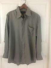 Diamante Couture Collection 16 32/33 Large Long Sleeve Button Front Shirt
