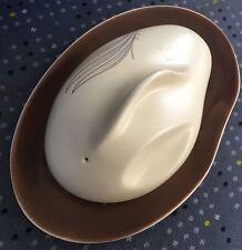 "Rare Vintage (1950s) Australian Design ""Carlton Ware"" Porcelain Butter Dish"
