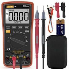 Digital Multimeter Fluke Meter Amp Ohm Voltmeter Autorange Volt Tester AC DC