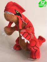 BIG 12 inches Wow Pokemon Groudon Plush Stuffed Doll Soft PNPL3273