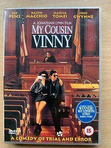 My Cousin Vinny DVD 1992 Oscar Winning Courtroom Comedy Classic with Joe Pesci