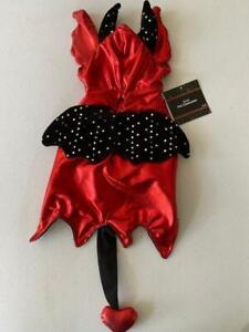 Devil Halloween Dog Pet Costume Size Medium