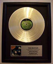 Beatles RUBBER SOUL Platinum White Gold LP Record + Mini Album Not a Award