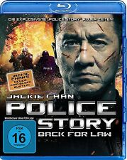 POLICE STORY :BACK FOR LAW (Jackie Chan)-  Blu Ray - Sealed Region B