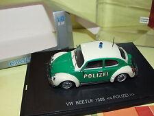 VW COCCINELLE 1303 POLIZEI POLICE UNIVERSAL HOBBIES 1:43