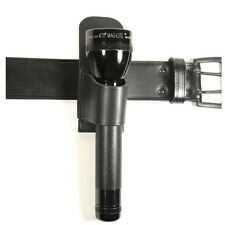 LT1 Protec Black Leather C+D Cell Maglite Torch Holder