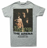 Doors Arena Grey T Shirt New NWT Official Band Jim Morrison