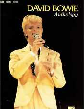 David Bowie Anthology Piano Vocal Guitar Sheet Music Chords Lyrics Space Oddity