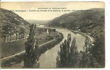 CP 25 DOUBS - Besançon - Vallée du Doubs à la Malate - Fort Montfaucon