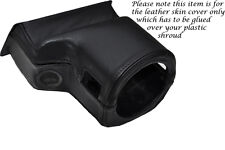 BLACK STITCH FITS ROVER 200 25 MG ZR 99-05 STEERING WHEEL SHROUD LEATHER COVER