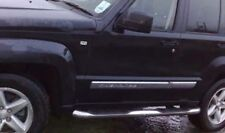 """**Out of Stock** Jeep Cherokee 08-12 3"""" Stainless Steel Side Step Running Boards"""