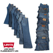 VINTAGE LEVI'S LOW WAIST FLARED/BOOTY LEG JEANS DENIM LEVI VARIOUS
