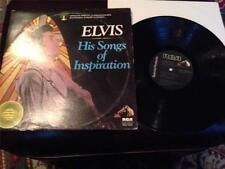 "Elvis LP ""His Songs of Inspiration""  Pre-Owned"