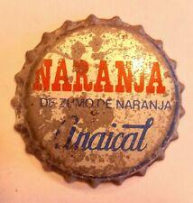 Chapa tapon corona antigua refrescos Anaical Spain