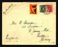 Jamaica 1938 Cover to UK - Z17641