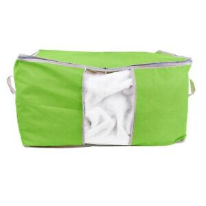 Foldable Storage Organiser Box Suitable Dust Proof Under-Bed Storage Green