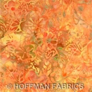 K2461 Melon 165 orange Hoffman Fabric