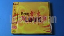 THE BEATLES Love CD JAPAN w/OBI Cirque Du Soleil TOCP-70200 ~5079