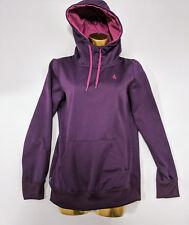 Womens Volcom Infinite Small Purple Hoodie