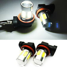 2x CREE XR-E LED H11 H8 For MERCEDES-BENZ Projector Fog Driving Light Bulb 6000k