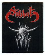 Sabbat Patch Venom Bathory Slayer Destruction Sarcofago Bulldozer Midnight